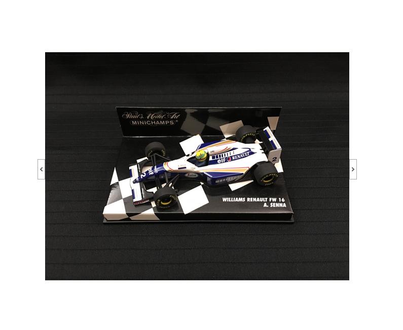 Williams Renault FW16 A.Senna 1994 1 43 (430940002) Minichamps