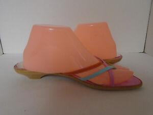 Sam & Libby Women's Multi Color Flip Flop Sandals Size 9M