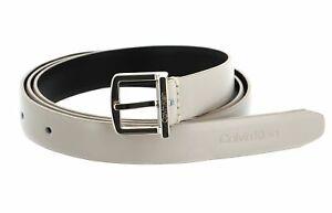 Calvin Klein Archive Square Buckle Belt W80 Gürtel Taupe Beige