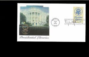 2005-FDC-Presidential-Librairies-13-diff-cities