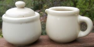 Trend-Pacific-Galaxy-Wheatstone-CREAMER-SUGAR-WITH-LID-SET