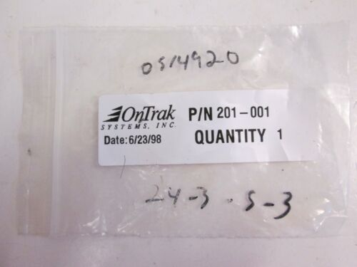 Details about  /OnTrak 201-001 Bearing