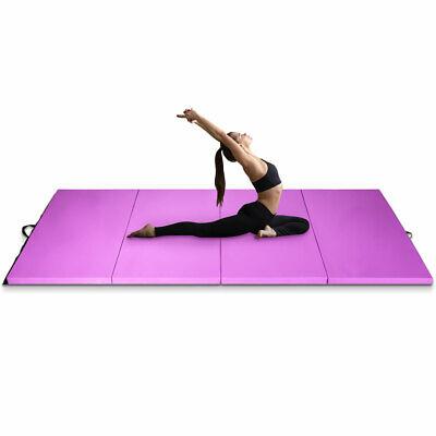 Non-Slip Mat Thick Pilates Yoga Fitness Mat Different Sizes and Colours Folding Mat for Gymnastics Aerobics