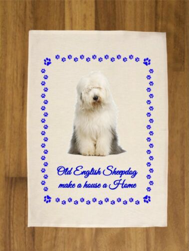 DOG BREEDS TEA TOWEL 100/% COTTON IDEAL GIFT  TERRIER LABRADOR PUG HOUSE HOME