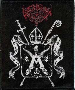 Archgoat Shield Patch Bathory Venom Quorthon Black Metal Behemoth Graveland
