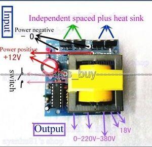 Convertisseur inverter 12v 220v