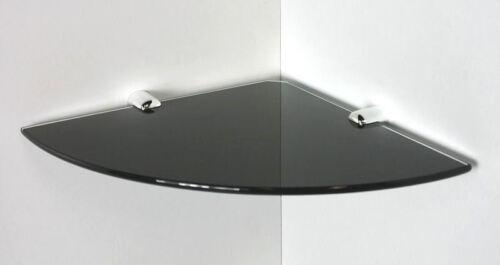 Clip REGGI Nylon in 6 Farben Glasregal Eckregal 25x25//6 klar schwarz satiniert