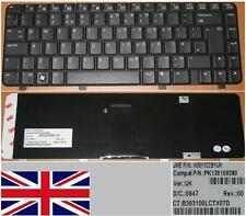 CLAVIER QWERTY UK HP 500 510 520 K061102B1UK  PK130100380 Noir