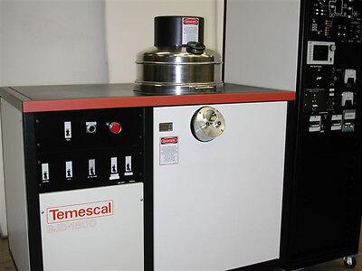 Temescal BJD 1800 Thermal Evaporator - Co-Deposition - Refurbished - Warranty