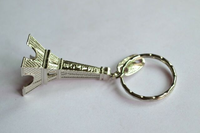 Paris Retro Mini Eiffel Tower Model Cute Keychain Keyring Keyfob Love Gift