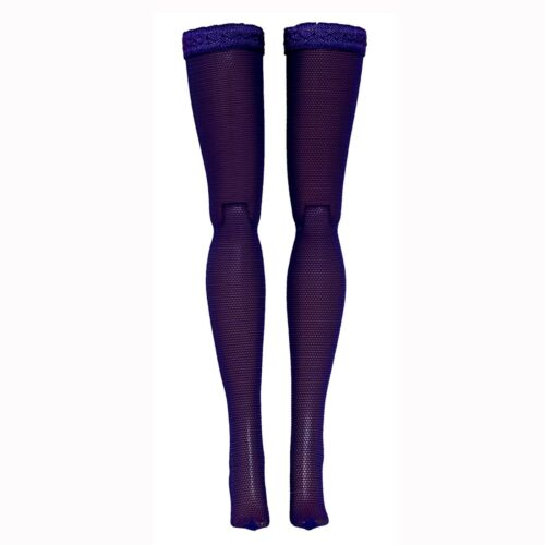 Dark Purple Doll Stockings for Modern Barbie Silkstone Made to Move Model Muse