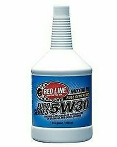 Red Line Euro Serie 5W-30 Aceite Motor 1US Cuarto (12304)