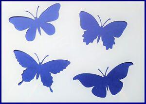 Flexible Stencil *GARDEN BUTTERFLIES* Butterfly Painting Card Making 14cm x 14cm