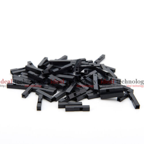 100X 1P Dupont Jumper Wire Cable Housing Female Pin Connector 2.54mm Pitch US