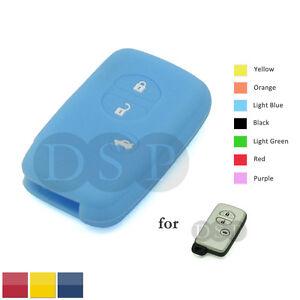 Silicone Skin Cover Shell fit for SUBARU Smart Remote Key Case Fob LB