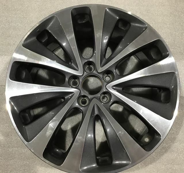 "2014 2015 2016 Acura MDX 71820 Wheel 19"" Rim Charcoal"