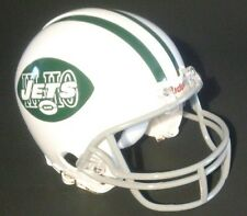 "NEW YORK JETS 1968 ""HI-HO"" FOOTBALL MINI HELMET USED BY ONE PLAYER THAT YEAR"