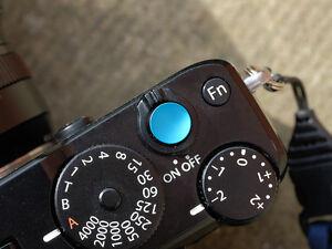 Selens Shutter Button Soft Release Metal Concave Copper Fuji XT2 XT3 XE3 XPro2