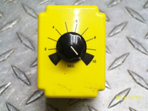 POTTER BRUMFIELD CDB 38-70003 TIME DELAY RELAY 0.1-10 SECOND