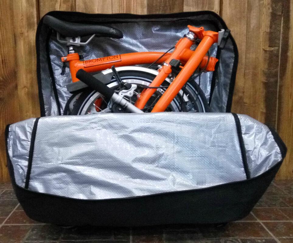 Transport Bag for Brompton Bike - BRO'bike Hard Bag