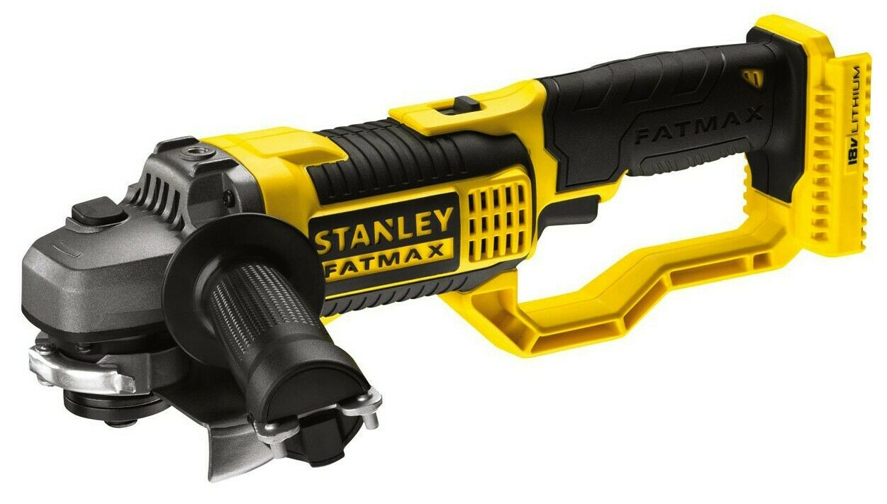 TOP QUALITY STANLEY FATMAX BARE 125MM ANGLE GRINDER SKIN 18V CORDLESS LITHIUM