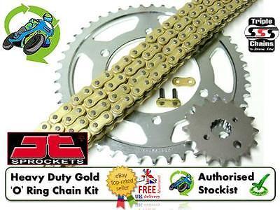 Yamaha XT660 X Super Motard 12 SSS GOLD Heavy Duty O-Ring Chain