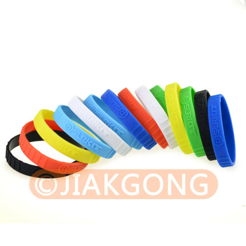 14pcs Mixed color silicone Rubber bracelet Wristbands SET for Camera Lens