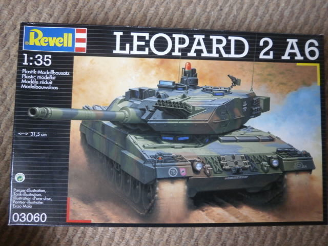 Revell 03060  leopard 2 A6   1 35 scale.