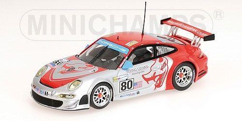 Porsche 911 gt3-rsr Overbeck Neiman 24h le mans 2008 1 43 Model Minichamps