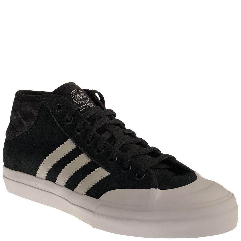 Adidas MATCHCOURT MID ADV Core Black Light Grey White B27334 (375) Men's shoes
