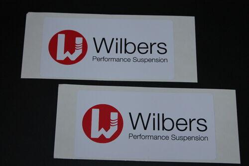#279 Wilbers Federung Suspension Dämpfer Aufkleber Sticker Decal Kleber Bapperl