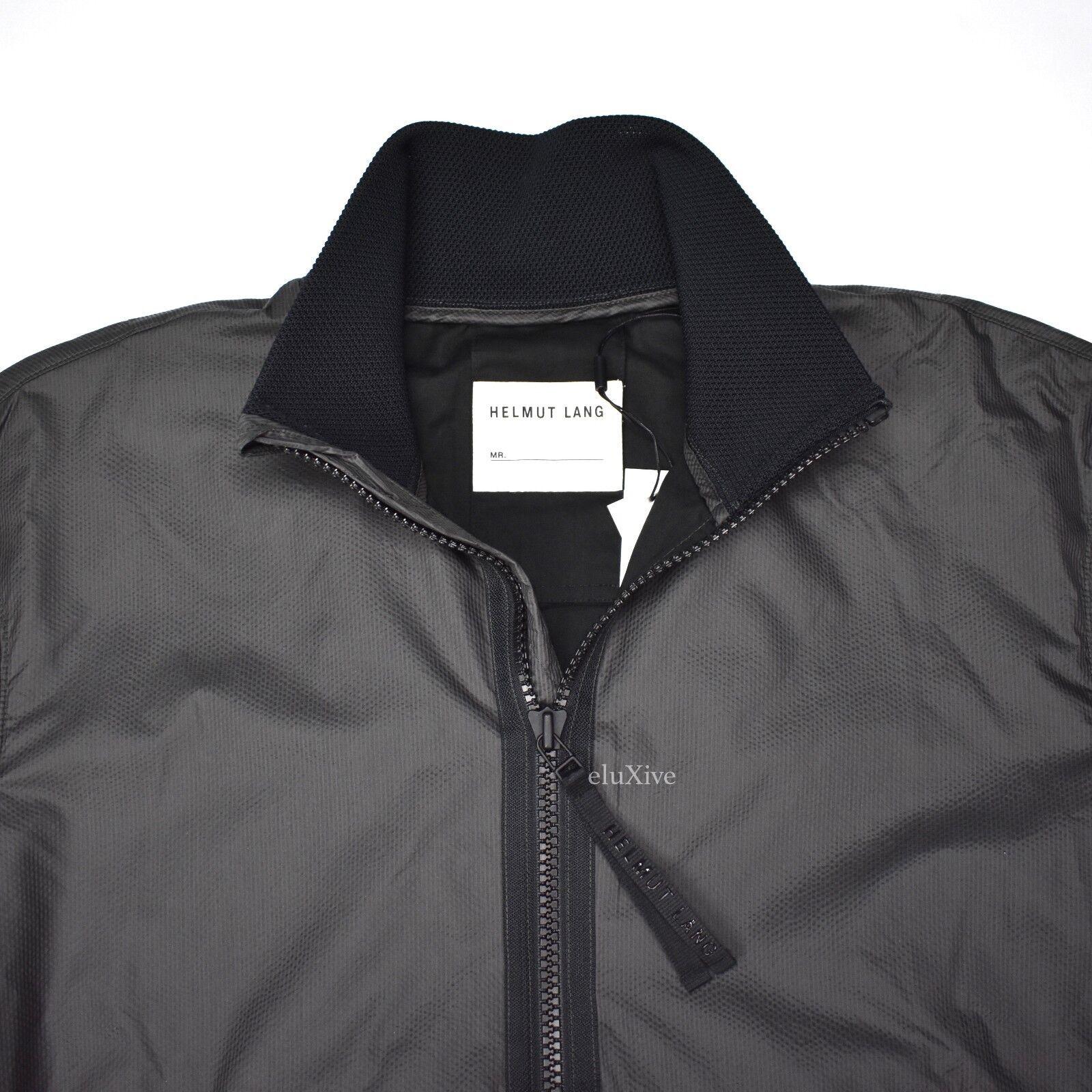505e77870d44 Helmut Lang Mens Translucent Bomber Jacket S for sale online