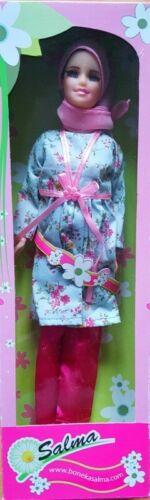 Blue Tunic Muslim Doll Fulla Doll Islamic Doll Hijabi Doll Girl/'s Eid gift