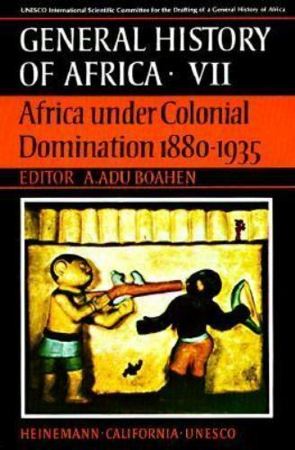 UNESCO General History of Africa, Vol. VII: Africa Under Colonial Domination 188