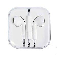 Apple EarPods para iPhone 4, 4S, 5, 5S, 6, manos Libres Auricular con micrófono. nuevo