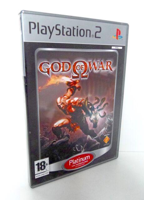 GOD OF WAR Sony Playstation 2 PS2 Platinium FR