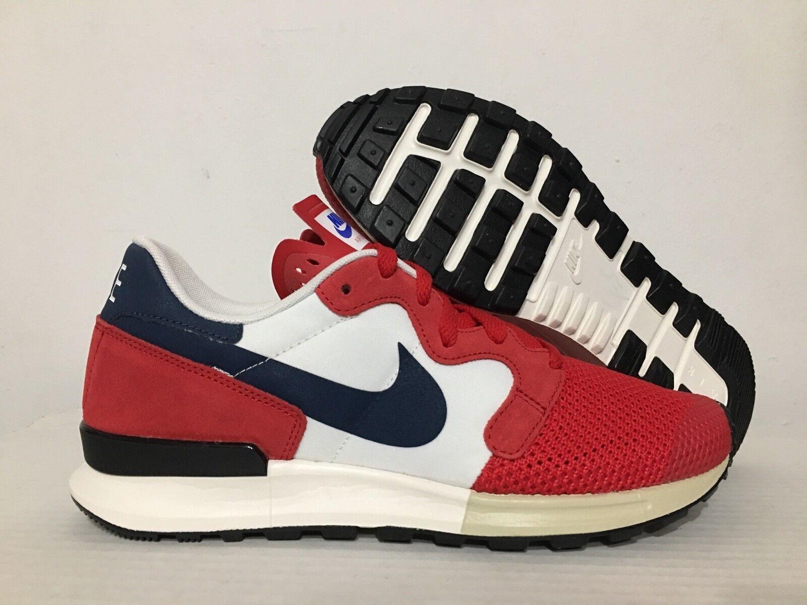 Usa Air Shoes Nike White Blue Red Berwuda Running Retro dIww7qP