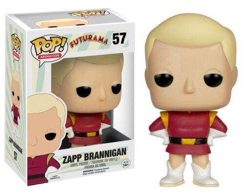 Zapp Brannigan Futurama TV Show POP! Animation #57 Vinyl Figur Funko