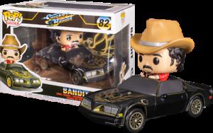 Rides Smokey and the bandit-BANDIT en TRANS AM Vinyl Figure 46921 Funko POP