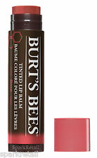 Burt's Bees ROSE Tinted Lip Balm 100% Natural Moisturizing Lipbalm 4.25g