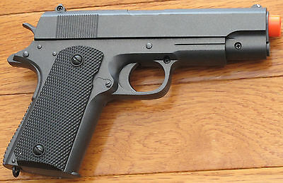 Heavy Weight Airsoft Spring Pistol Compact 1911 Shoot up to 230 FPS