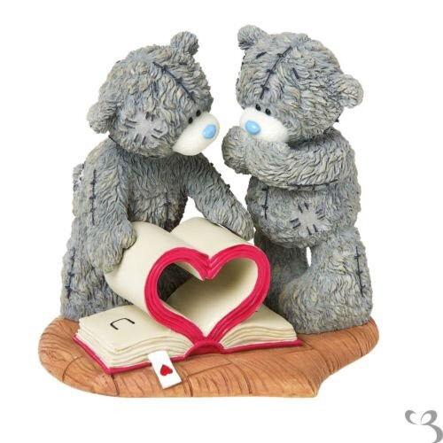ME TO YOU libro d'amore d'amore d'amore figurina Tatty Teddy orso Statua be817e