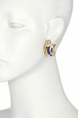 Alexis Bittar Gold 'Jardin Mystère' Beetle Clip-on Earrings.  *****NEW*****