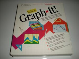 Timeworks-Graph-It-data-graphing-software-for-Apple-IIc-2GS-2e-New