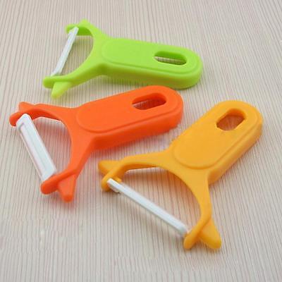 Fruit Vegetable Carrot Spud Potato Slicer Speed Ceramic Peeler Cutter New