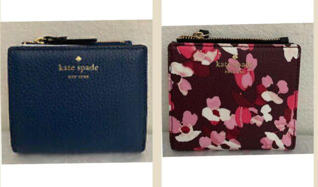Kate Spade CAMERON STREET ADALYN Compact Wallet Card Case Coin Purse *NWT $88*