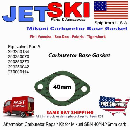 Sea-Doo 580-800 Carburetor Gasket 40mm Replaces 270000114,293250134 007-574-01