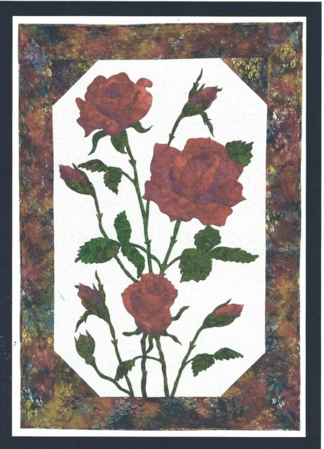 Roses Applique Quilt Pattern by Cleo's Designs