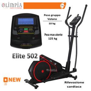 OFFERTA-GetFIT-ELITE-502-ELLITTICA-ElettroMagentica-10Liv-RICEV-POLAR-PROGR