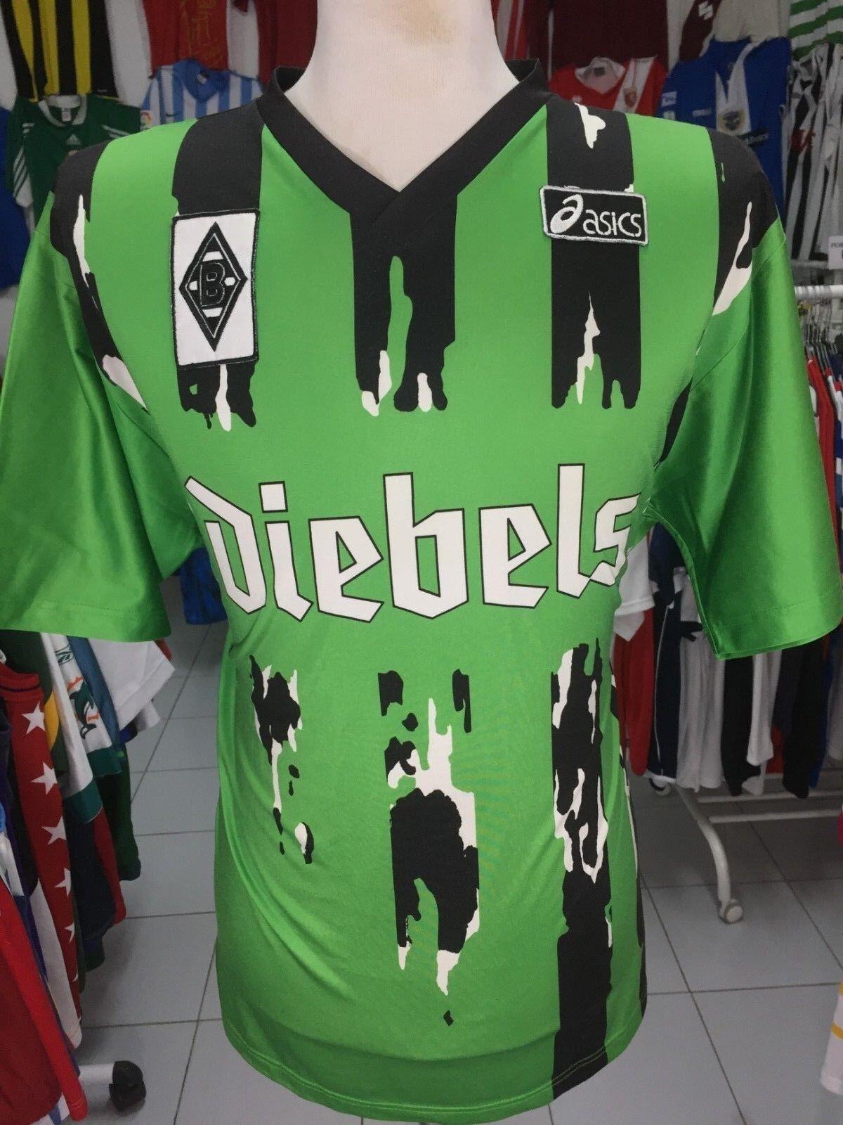 Trikot Borussia Mönchengladbach 1994/95 (XL) Auswärts Asics Diebels Jersey Shirt